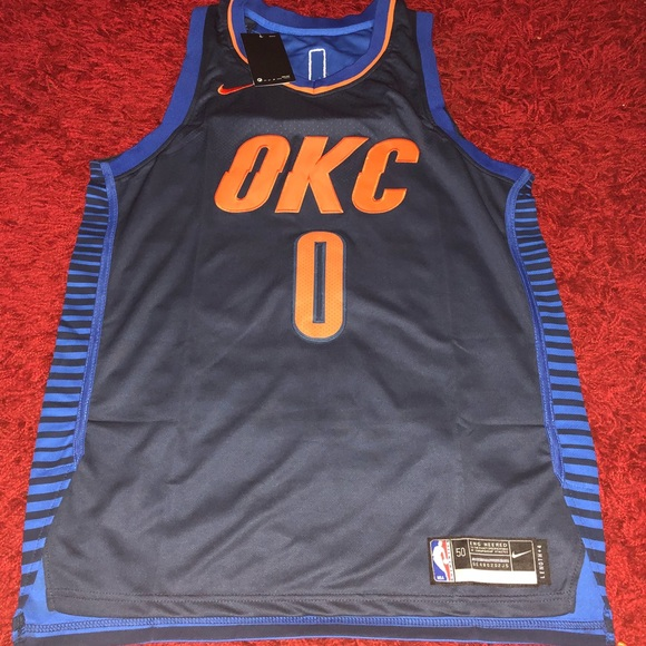 low priced 68e12 37a31 Russell Westbrook Nike size 50 jersey NWT NWT